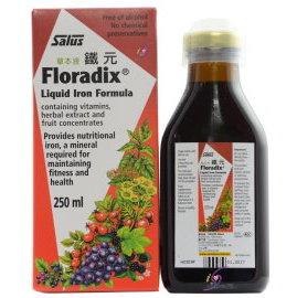 鐵元草本滋補液~~天然鐵劑Floradix 250ml 德國 植物鐵劑