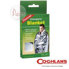 探險家戶外用品㊣8235 加拿大coghlan's 救生毯 緊急救生袋 緊急用毯 雙銀鋁箔毯 救生毯 急救毯 保溫毯 救難包