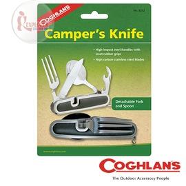 探險家戶外用品㊣8252 加拿大coghlan's 刀餐具組 (刀子+叉子+湯匙+開罐器) 餐具組 登山 露營