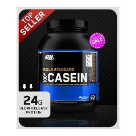 Optimum Nutrition CASEIN PROTEIN 奧普特蒙 純酪蛋白 4磅