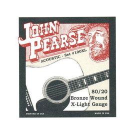 ~舒伯樂 ~ 樂器.錄音.音響 ~John Pearse 民謠吉他弦 80 20青銅 10