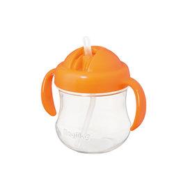 貝親吸管莫哭杯(橘)(P15733)