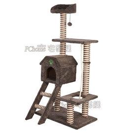 沛特高  ~0260 歐式毛絨六層樓梯貓跳台 ~