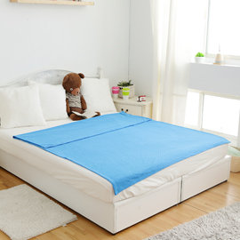 發熱毯^(超人被^)~寶石藍~MCM 館~3M~機能 鋪床毯 保暖毯 毛毯 懶人毯 毯被