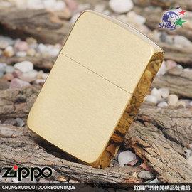 ~詮國~Zippo 美系 打火機 ~ 1941年復刻版 ~ 黃銅純銅髮絲紋面  NO.19