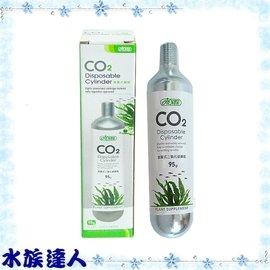 【水族達人】伊士達ISTA《二氧化碳CO2拋棄式鋼瓶95g.單瓶》新型CO2供應組專用!