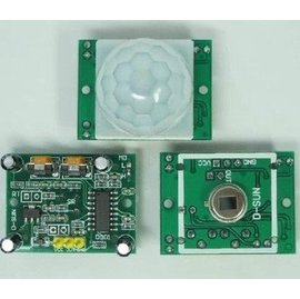 HC~SR501 人體紅外線感應模組 熱釋電傳感器 感應開關感應芯片