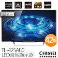 奇美 CHIMEI 42吋 智慧型 LED液晶顯示器 TL-42SA80 附視訊盒