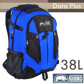 【犀牛 RHINO】Data Plus 38L多功能隨身背包.運動背包.筆電背包.自行車背包.上班上課背包.後背包/224 藍/暗灰