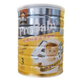 桂格特選成長奶粉-新一代藻精配方1.5kg(6罐/箱)