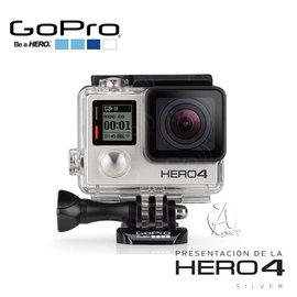 ~A Shop 高雄店~GoPro HERO4 SLIVER 超廣角 觸控螢幕銀色版