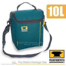 【美國 MountainSmith】The Sixers-Heritage Teal 保溫提袋(10L)/保冰袋.手提包.斜背包/適登山健行(非Gregory)/藍  D47509050