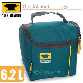 【美國 MountainSmith】The Takeout 便當盒保溫袋(6.2L)/保溫提袋.保冰袋.手提包/適登山健行.旅遊(非Gregory)/藍 D47510050