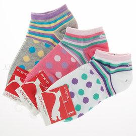 台灣製~PUMA- Fashion圓點腳踝襪 運動襪 (BB0924)