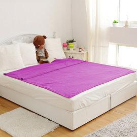 發熱毯 超人被 ~羅蘭紫~MCM 館~3M~機能 鋪床毯 保暖毯 毛毯 懶人毯 毯被 蓄熱