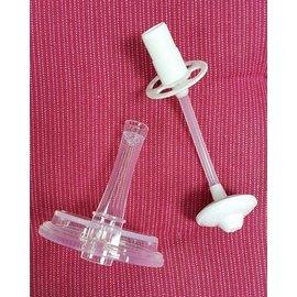Nuby吸管配件組-不銹鋼真空學習杯(粗吸管) NO.P139