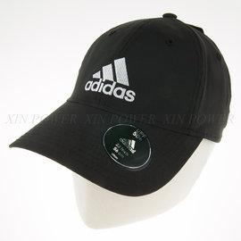 Adidas~抗紫外線 休閒運動帽-黑/白 (S20436)