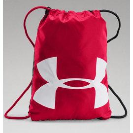 免運費~UNDER ARMOUR Ozsee Sackpack 1240539-600 輕便健身包 紅/白 (公司貨)
