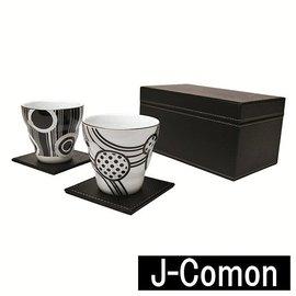 ~九寶川~ 瓷器雜貨   美濃燒和藍系列 J~COMON古紋馬克杯組