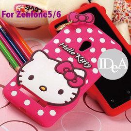 Sanrio 華碩 Zenfone5 6 Hello Kitty 凱蒂貓 蝴蝶結點點 波點