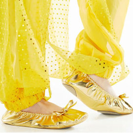 兒童金色平底練習鞋E331-A0129芭蕾舞鞋.跳舞鞋.軟鞋.表演服.演出服.舞蹈服.成果展.肚皮舞鞋.舞蹈服飾配件專賣店特賣會推薦哪裡買