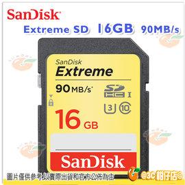SanDisk Extreme SDHC UHS~I U3 16G 16GB 90MB s