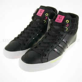 6折出清~Adidas 女 NEO 休閒 流行高筒 皮質 休閒運動鞋 (F97972)