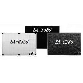(濾網組)HEPA濾網+活性碳濾網+蜂巢活性碳濾網 H320+T880+C280 【適用機型 SA-2288F】