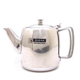 《3557》ZEBRA斑馬牌全不鏽鋼泡茶壺1.5L【附濾網】㊣304不銹鋼咖啡壺 冷水壺 花茶壺 開水壺 午茶壺