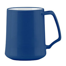 ~Dansk~Kobenstyle 把手馬克杯~ 藍