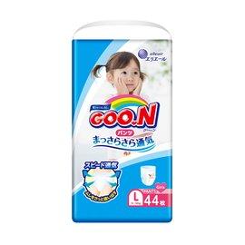 日本大王GOO.N日本頂級境內版褲型紙尿布-女生L44片(3包 /箱購)