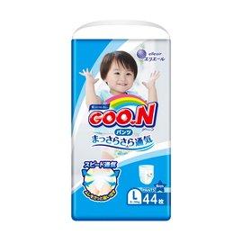 日本大王GOO.N日本頂級境內版褲型紙尿布-男生L44片(3包 /箱購)