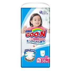 日本大王GOO.N日本頂級境內版褲型紙尿布-女生XL38片(3包 /箱購)