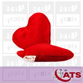~4cats~~490免 ~德國 •貓草^(纈草^)愛心姐姐抱枕•貓咪玩具