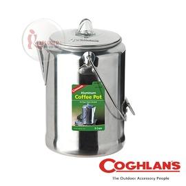 探險家戶外用品㊣1346 加拿大coghlan's 鋁合金咖啡壺 (9杯) 燒水壺鍋 茶壺鍋 煮水壺 泡茶壺 冷水壺 露營