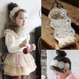 ~小阿霏~兒童公主蕾絲髮圈 出口韓國高 neitiri 寶寶寫真拍照 髮飾 可 女童蓬蓬裙