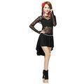 5Cgo~ 七天交貨~ 42864381157 拉丁舞演出服表演服裝蕾絲套裝拉丁舞比賽服裝