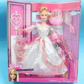 芭比娃娃 3個 8865~5 洋洋娃^(明盒^) 一盒入^~促180^~