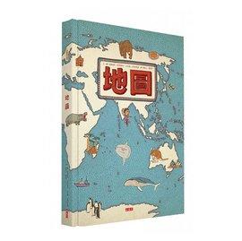 地圖^(增訂版^)^(小天下^)~史上最獨特的手繪風世界地圖^~歷時3年精心繪圖、知識考證