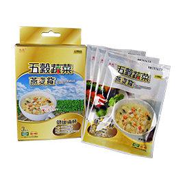 ~泳亮~五穀蔬菜燕麥片餐 ^~3袋入^( 裝12盒^)