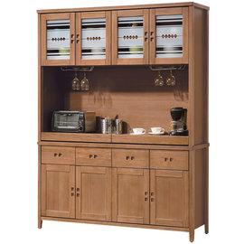 ~ 屋~^~UZ6^~香杉美檜5.5尺碗碟櫃組UZ6~315~1 免組裝 免 餐櫃 收納櫃