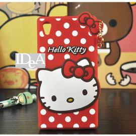 Sanrio SONY Z Z1 Z2 Z3 Hello Kitty 凱蒂貓 蝴蝶結點點