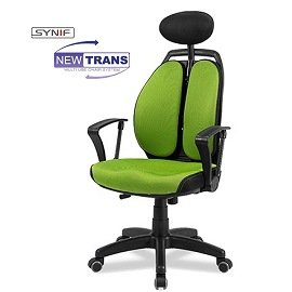 NEW TRANS 雙背輕巧型人體工學椅~SYNIF~DIY HAWJOU 豪優 人體工學