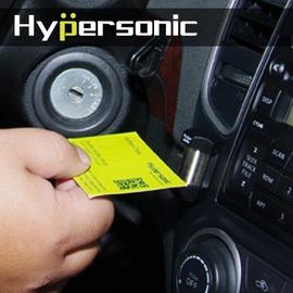 Hypersonic 六角票夾 彈簧名片票夾 名片夾 留言板 票卡收納 票卡夾 車內收納