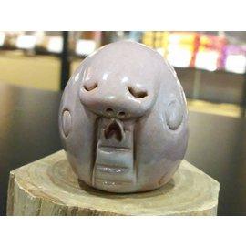 【啟秀齋香品軒】十二生肖 靈蛇 香插 香座 高約4.5公分 居家擺飾擺件 茶寵 鶯歌陶瓷藝品