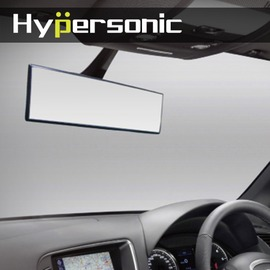 Hypersonic 240MM汽車後視鏡 後照鏡 曲面鏡 廣角鏡 輔助鏡 車用室內鏡 防