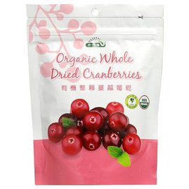 統一生機 有機整顆蔓越莓乾 150g 袋