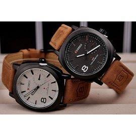 ^~郵購俗^~ CURREN 卡瑞恩真皮手錶 腕錶