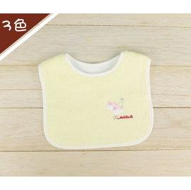 Alee Baby 鞋子圍兜 三色 圍兜兜 兜巾 毛巾 小毛巾^(黃^)~AD1021~