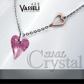 VASSELI~╮ 免  12期0率 買一送五╭~~波蘭迷情~女墜~Swarovski水晶